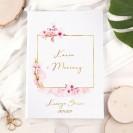 KSIĘGA gości weselnych Z IMIONAMI Kwiat Wiśni PION 200 stron