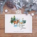 KSIĘGA GOŚCI weselnych z imionami Zimowy Ślub