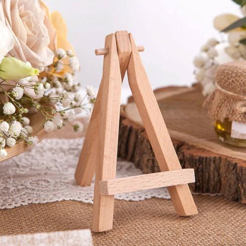 SZTALUGA drewniana mini na wizytówki, bileciki 15cm