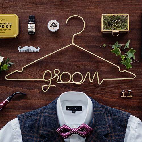 WIESZAK ślubny dla Pana Młodego Groom