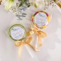 LIZAKI Smaki Dzieciństwa Gałązka Eukaliptusa Ślub Z IMIONAMI 10szt (+etykiety)