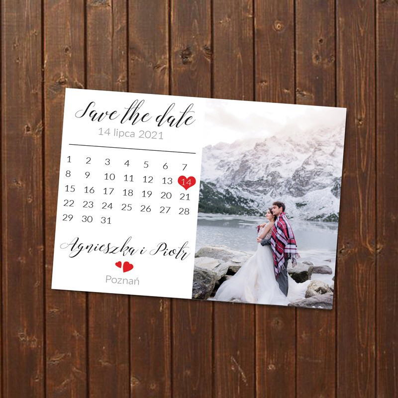 MAGNES Save the date FOTO+KALENDARZ