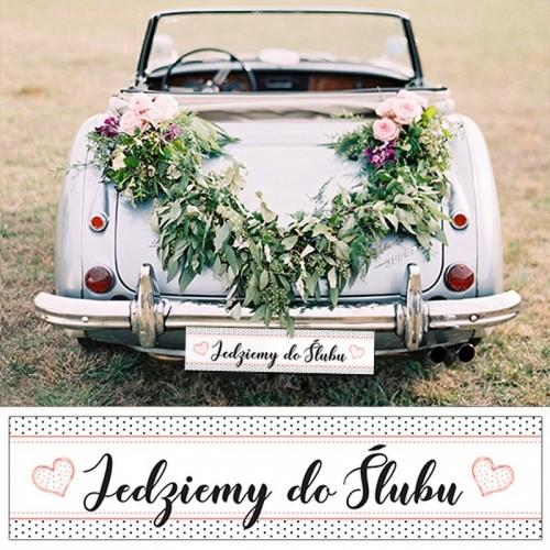 TABLICE rejestracyjne ślub Kropeczki RÓŻNE WZORY KONIEC SERII