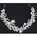 OPASKA ślubna do włosów Cristal Pearls