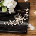 GRZEBYK ślubny do włosów Pearls (10)