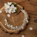 OPASKA ślubna do włosów Cristal Pearls (276)