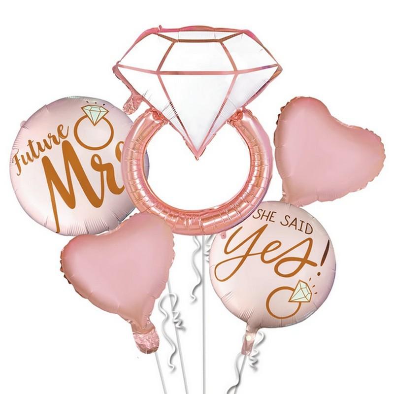 zestaw balonów na wieczór panieński
