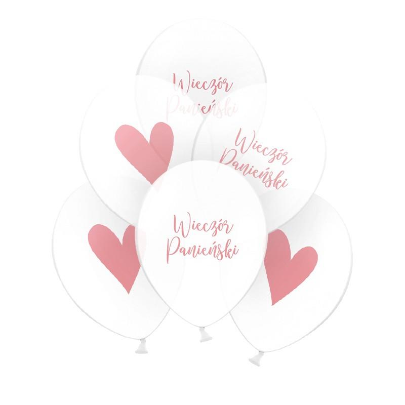 lateksowe balony na panieński