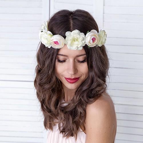 WIANEK na wieczór panieński Białe Kwiaty OKAZAŁY