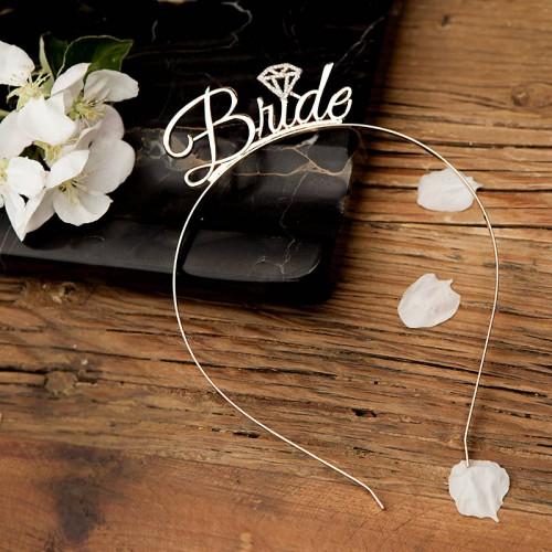 OPASKA na panieński Bride z diamentem ZŁOTA