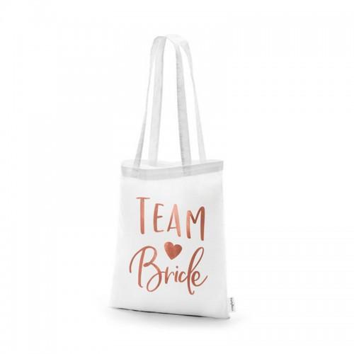 TORBA na Wieczór Panieński Team Bride ROSEGOLD
