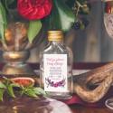 ETYKIETY personalizowane na mini wódkę Kwiaty Boho 16szt