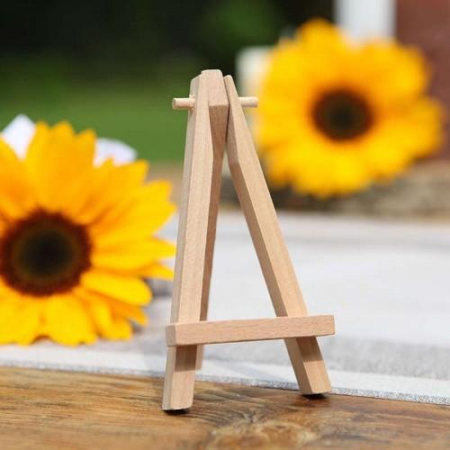 SZTALUGA drewniana mini na wizytówki, bileciki 12cm