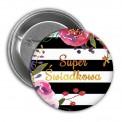 PRZYPINKA Super Świadkowa Flowers&Stripes (16)