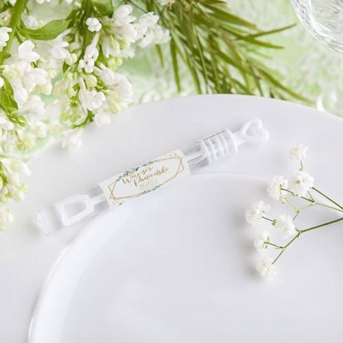 BAŃKI mydlane z personalizacją panieński Botaniczny