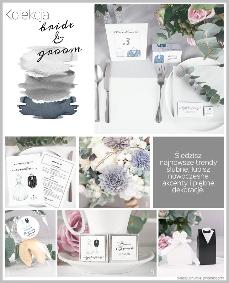 dekoracje ślubne inspiracje sklep ślubny love