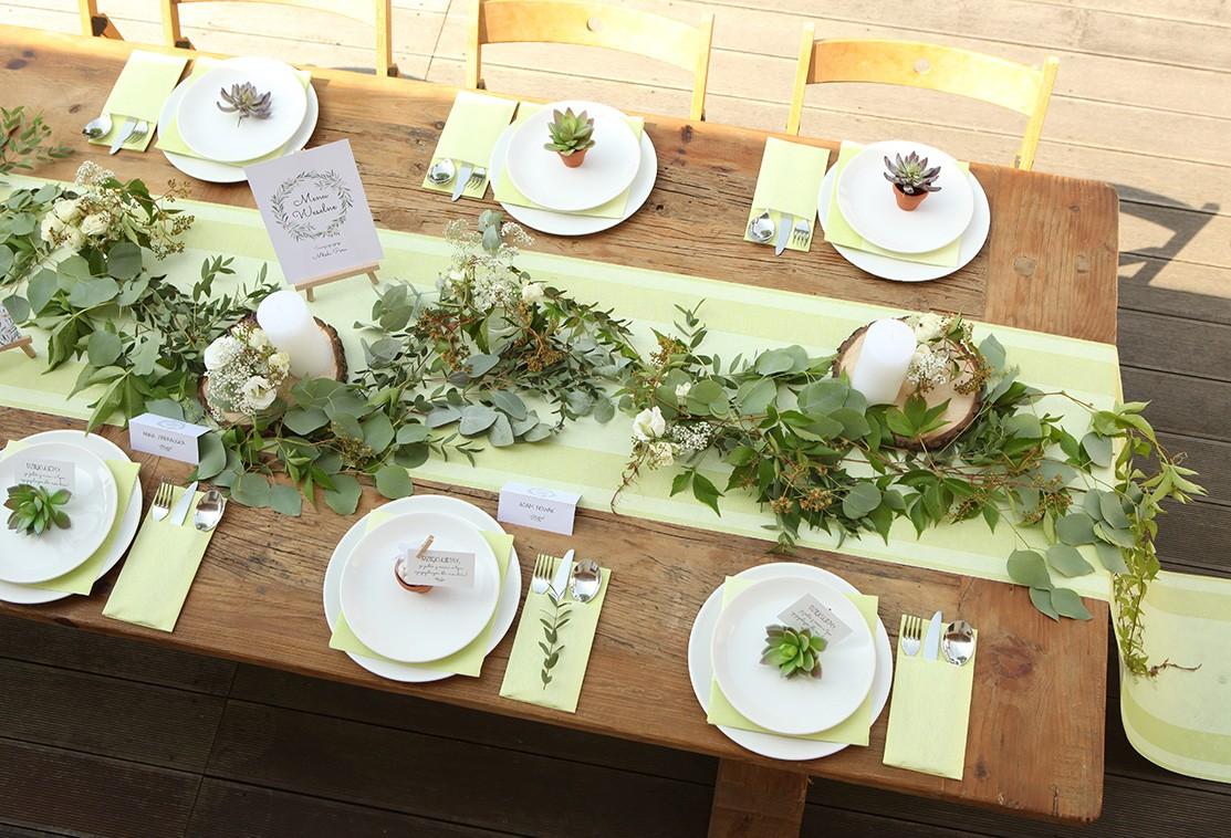 Styl Natural Green Naturalne Dekoracje ślubne