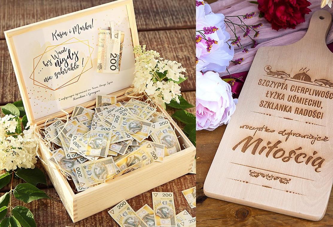 5a808567b12eef Pomysły na prezenty ślubne dla Młodej Pary - modne propozycje z imionami  Nowożeńców