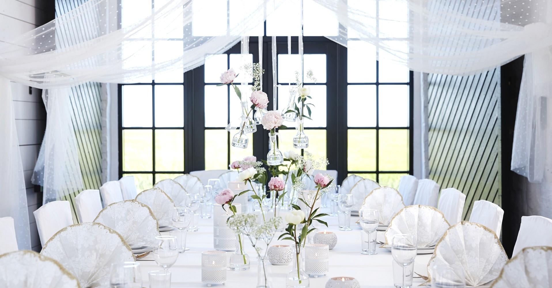 Kolekcje dekoracji weselnych