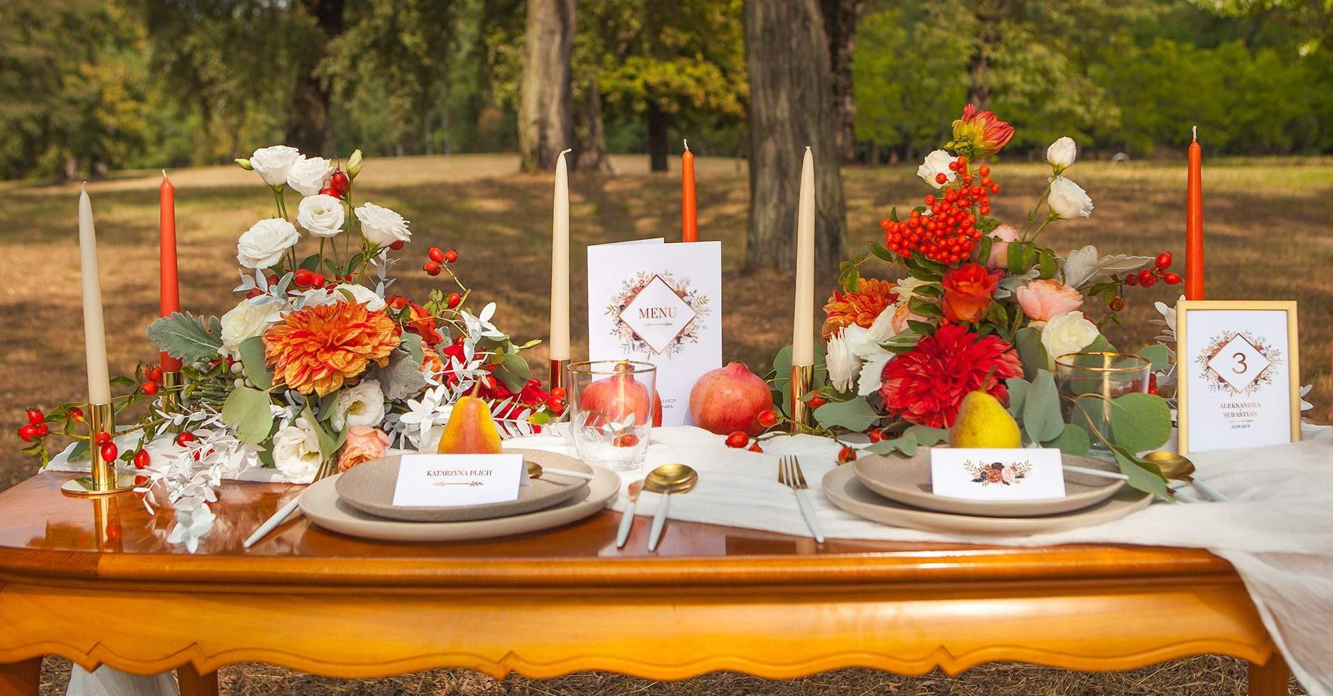 Dekoracje ślubne I Weselne Na Twój Szczęśliwy Dzień