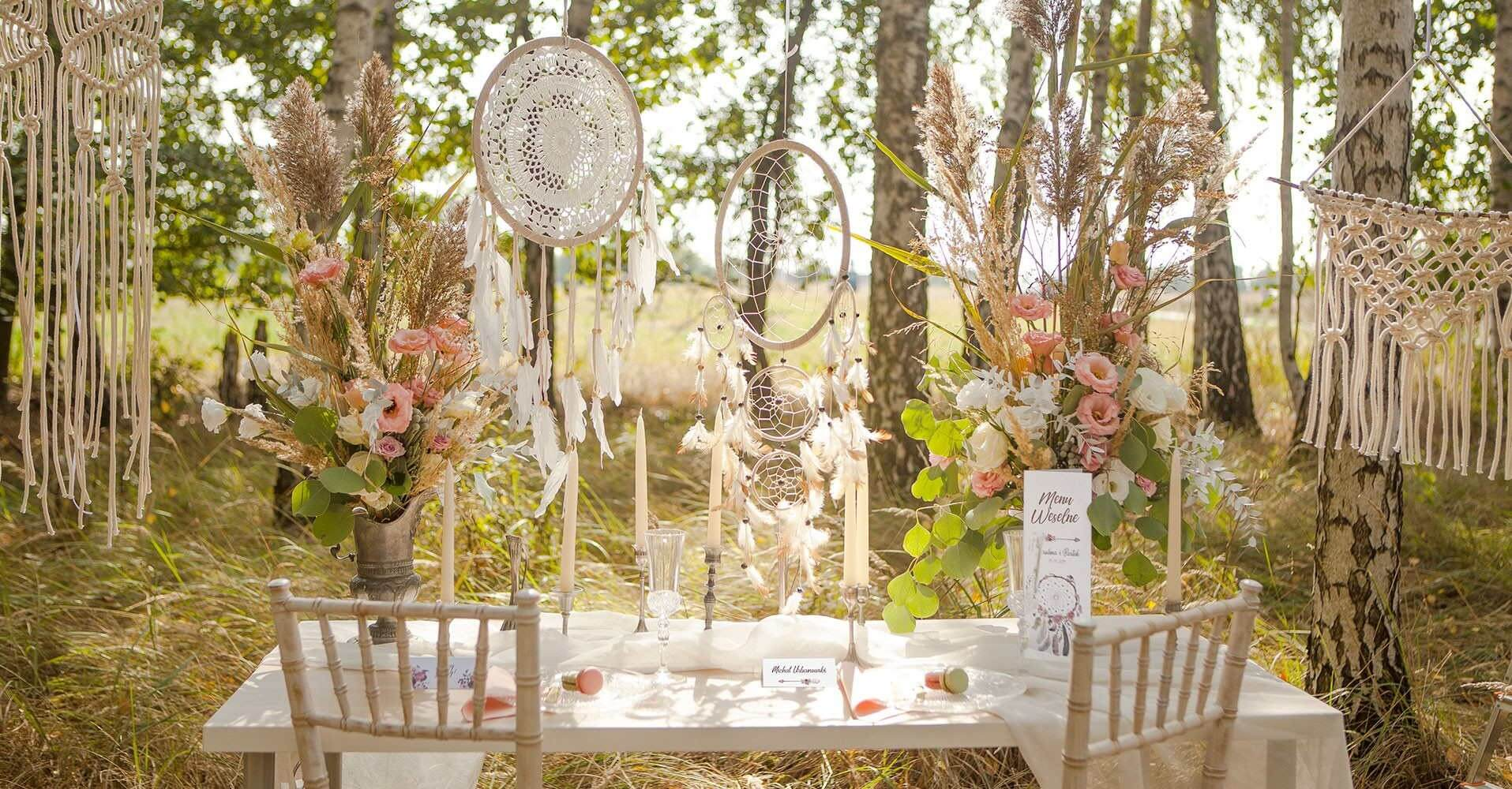 Dekoracje na ślub i wesele - wybierz kolekcję